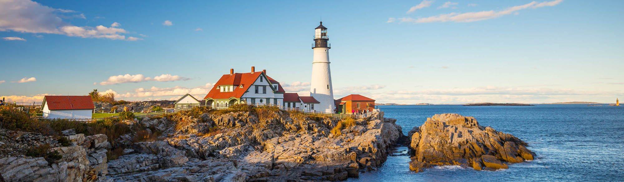 Komea ja luonteikas New England –USA