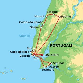 Paras pitkä Portugaliin, 22 päivää