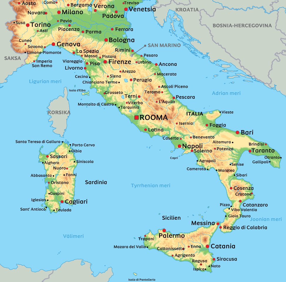 Pohjois-Italia