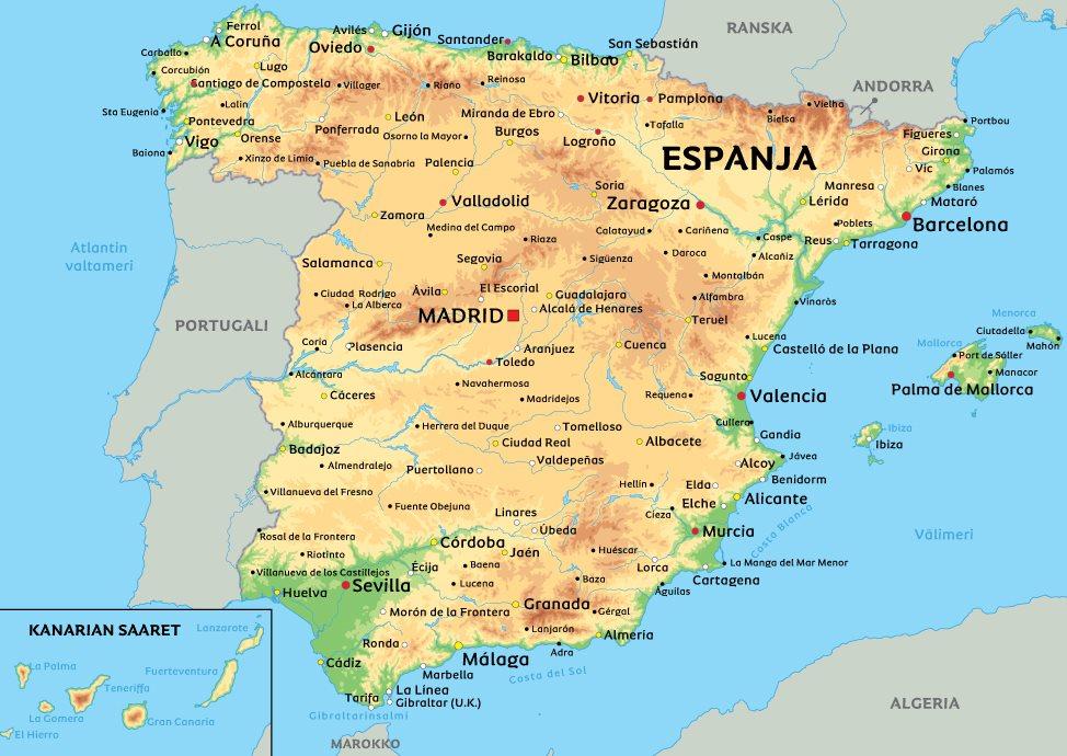 espanjan saaret